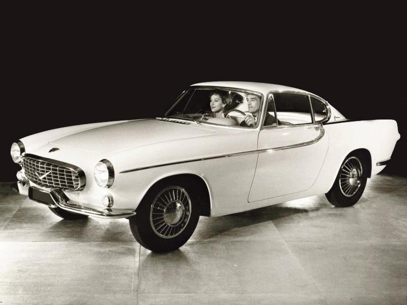 Volvo P958-X2 Prototype by Frua (1958)