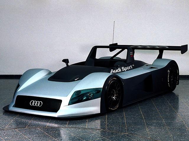 Audi R8R LMP Prototype (1998)