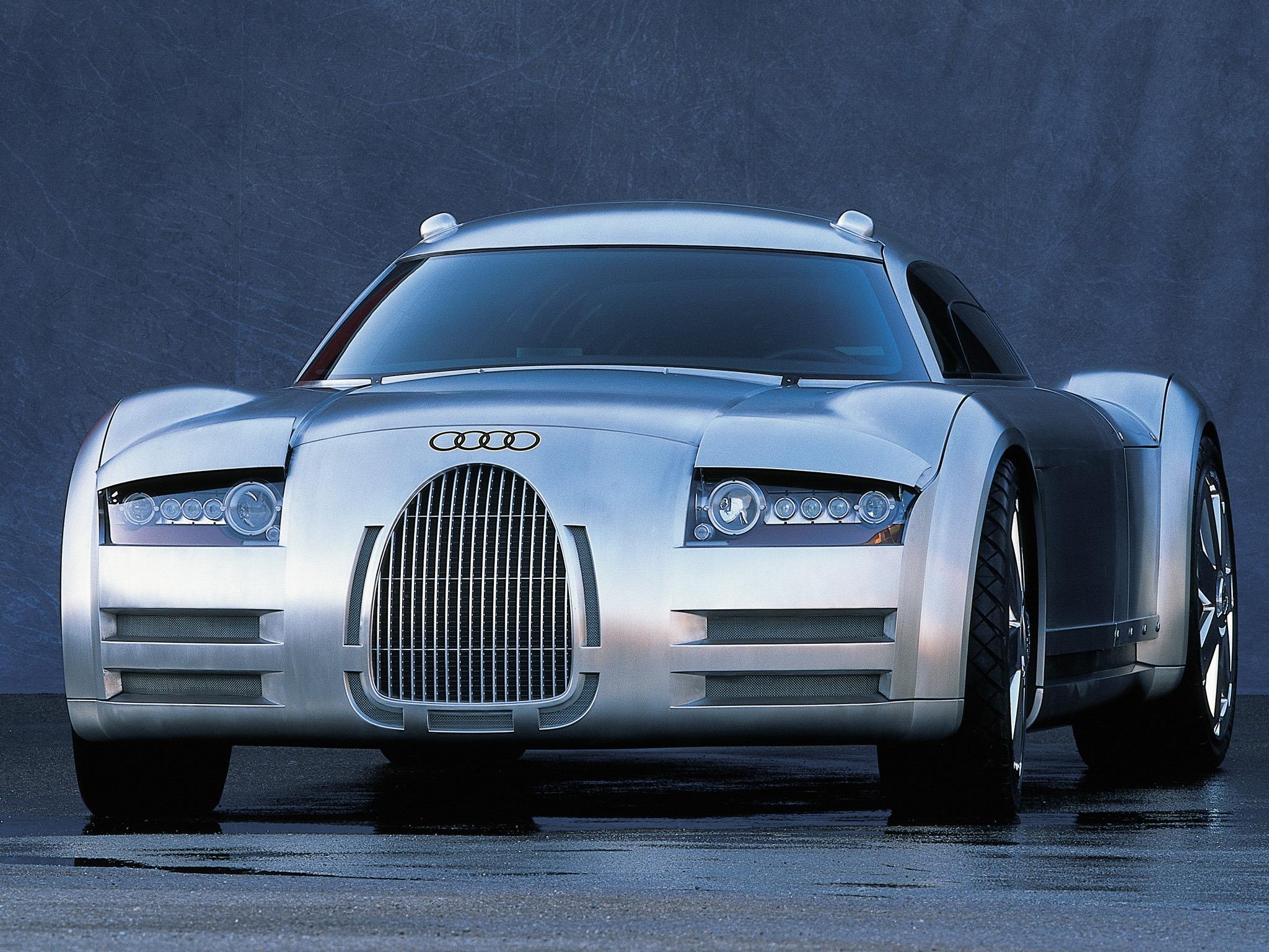 Audi Rosemeyer Concept (2000) - Old Concept Cars