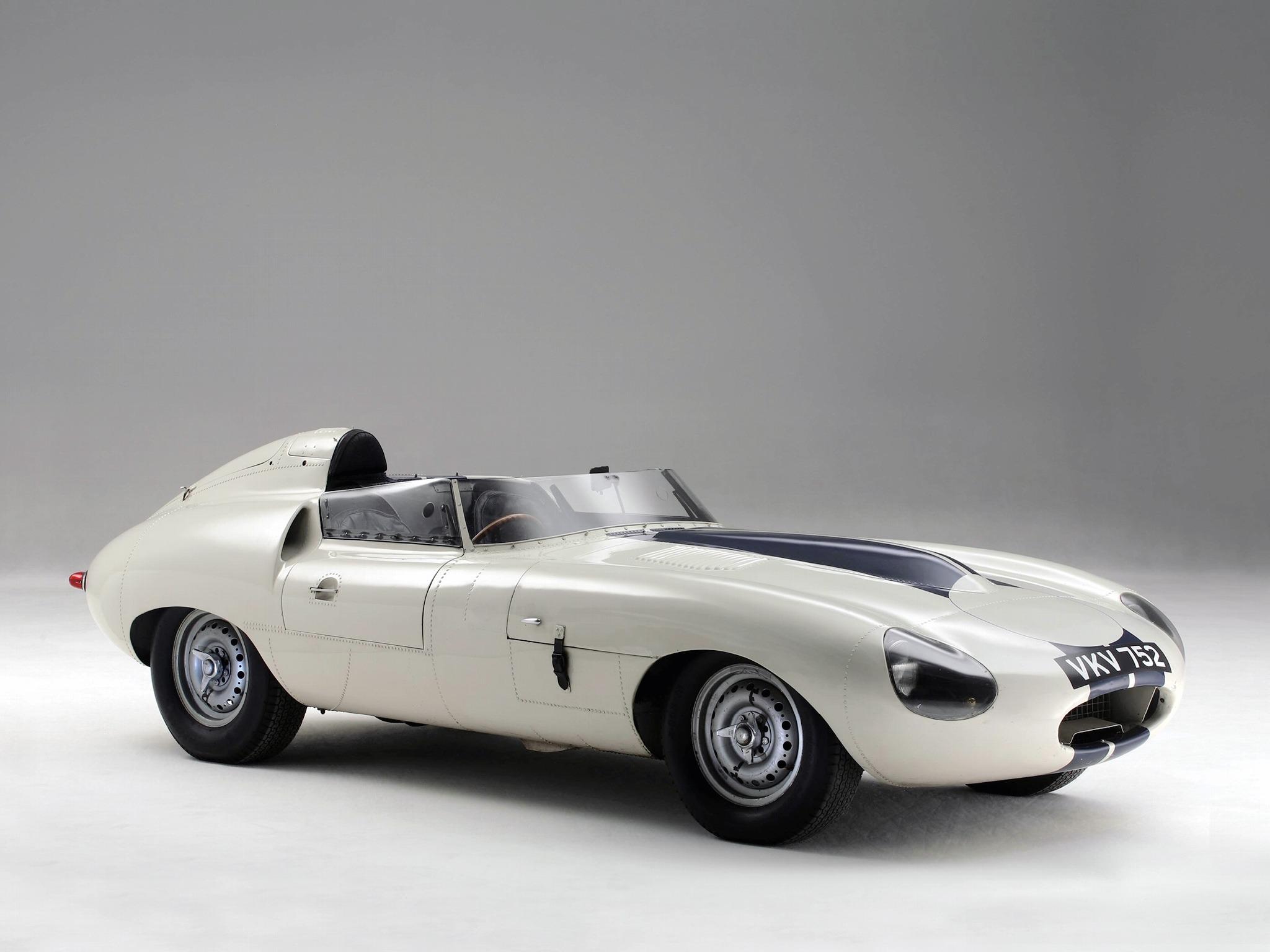 Jaguar E-Type Prototype E2A (1960) - Old Concept Cars