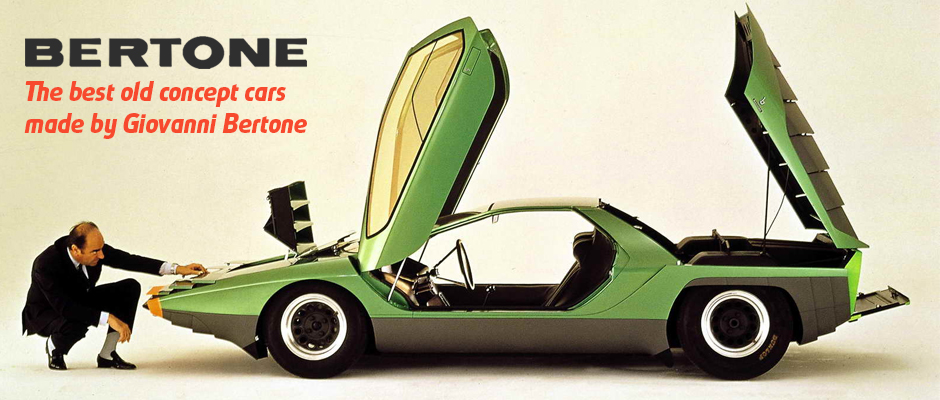 The best old concept cars made by Bertone
